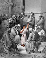Jesus at 12 Teaching in the Temple